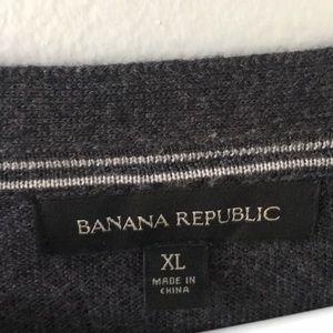 Banana Republic Sweaters - Men's Banana Republic Wool Blend Piped Cardigan XL